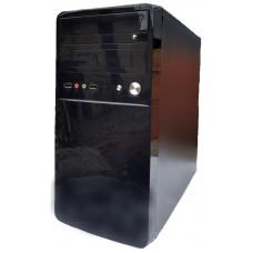 Корпус Delux MK220 Micro ATX, 2xUSB2.0, без БЖ, Mini-Tower, Чорний