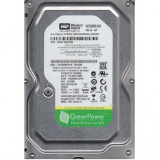"Жесткий диск 3.5"" SATA3  320GB 8MB 5400-7200 WD Caviar Green (# WD3200AVVS #) Refurbished"