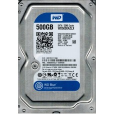 "Жесткий диск 3.5"" SATA3   500GB 32MB 7200 WD Blue (WD5000AZLX)"