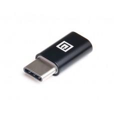 Адаптер USB Type-C (папа) - Micro USB (мама) REAL-EL (EL123500018)