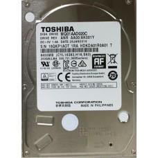 "Жорсткий диск 2.5"" SATA2  200GB  8МВ 4200 Toshiba (MQ01AAD020C)"