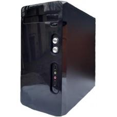 Корпус Delux MK240 Micro ATX, 2xUSB2.0, без БЖ, Mini-Tower, Чорний