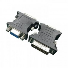 Переходник DVI A 24+5 pin (M) - VGA 15 pin (F) HD Cablexpert (A-DVI-VGA-BK)
