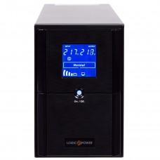 ДБЖ LogicPower LPM-UL1100VA 1100VA, 770Вт, 3xSchuko, RJ-45, USB, LCD (0004984)