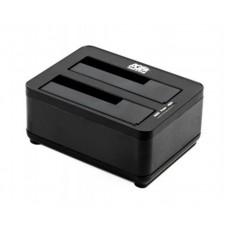 Док-станция HDD 2.5/3.5' Agestar 3UBT8  USB3.0 2 слота, черная