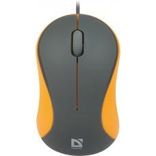 Мишка Defender Accura MS-970 Gray-Orange (52971)
