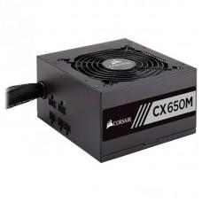Блок живлення Corsair  650Вт CX650M (CP-9020103-EU) ATX, EPS, 120мм, APFC, 6xSATA, 80 PLUS Bronze