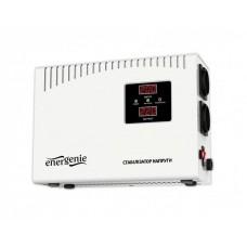 Стабілізатор напруги EnerGenie EG-AVR-DW2000-01 2000VA, 1200 Вт, 140-260 В, релейний, однофазний