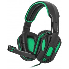 Гарнітура Defender Warhead G-275 Black-Green (64122)