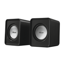Акустика 2.0 TRUST Leto 2.0 Speaker (19830) чорний, пластик, 2 x 3 Вт (RMS)