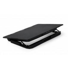 """Підставка для ноутбука Gembird NBS-2F15-02 до 15.6"""" 355 х 255 х 30 мм, вентиляторы 2x125мм"""