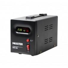 Стабілізатор напруги Maxxter MX-AVR-S500-01 500VA, 300 Вт, 140-270 В, релейний, однофазный