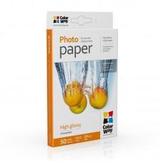 Фотопапір ColorWay глянцевий 200г/м2 10х15см 50л (PG2000504R)