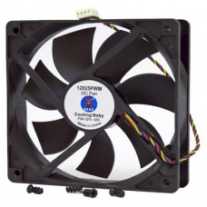 Вентилятор Cooling Baby 12025 PWM черный 4pin