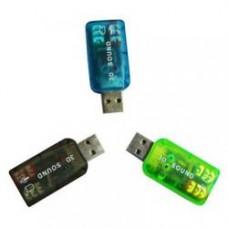 Звукова карта USB ATcom 3D Sound (7807) 5.1 Channel, 48KHz/16bit