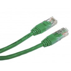 Патч-корд литий  1,5 м Cablexpert RJ45 UTP кат.5е зелений (PP12-1.5M/G)