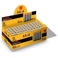 Батарейка Kodak XTRALIFE LR06 AA 1*4шт