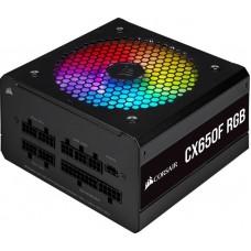 Блок живлення Corsair  650Вт CX650F RGB (CP-9020217-EU) ATX, 120мм, APFC, 7xSATA, 80 PLUS Bronze
