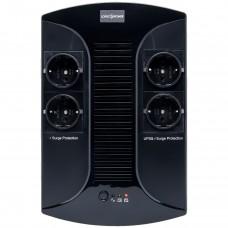 ДБЖ LogicPower LP 850VA-PS 850VA, 510Вт, 4xSchuko (0002416)