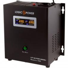 ДБЖ LogicPower LPY-W-PSW-500VA+ 500VA, 350Вт, 1xSchuko, LCD (0004142)