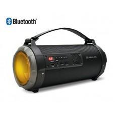 Акустична система 1.0 REAL-EL X-720 Black Bluetooth 15Вт (EL121600001)