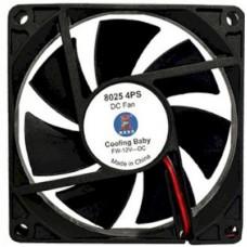 Вентилятор Cooling Baby  8025 4PS 80x80x25 мм, Molex