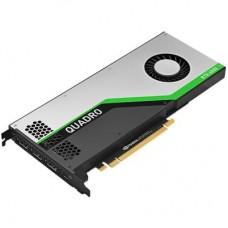 Відеокарта PCI-E nVidia QUADRO RTX 4000 HP 8ГБ (5JV89AA) / GDDR6 / 256Bit / 1215/13000МГц / 3xDP / USB Type-C