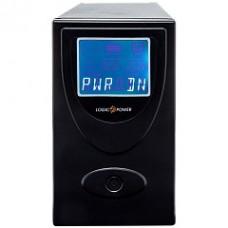 ДБЖ LogicPower UL650VA 650VA, 390Вт, 2xSchuko, USB, LCD (0001454)