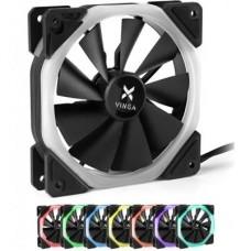 Вентилятор Vinga RGB fan-03 120х120х25 мм різнокольоровий