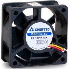 Вентилятор Chieftec Thermal Killer AF-0625S 60x60x25 мм, 3pin/Molex