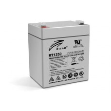 Батарея ИБП Ritar AGM RT1250, 12V-5Ah (RT1250)