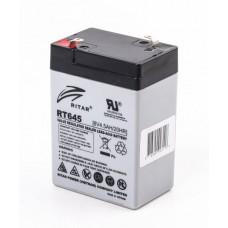 Батарея ИБП Ritar AGM RT645, 6V-4.5Ah (RT645)