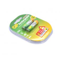 Акумуляторы GP 100АAAHC-UС2 Ni-MH 2шт AAA 1000mAh (04629)