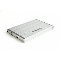 """Зовнішня кишеня для HDD SATA 2.5"""" Gembird EE2-U3S-5-S USB3.0, серебро, алюминий"""