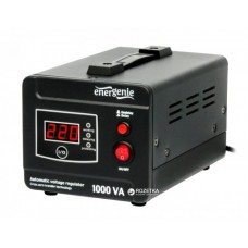 Стабілізатор напруги EnerGenie EG-AVR-D1000-01 1000VA, 600 Вт, 140-260 В, релейний, однофазний
