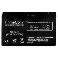 Батарея ИБП FrimeCom GS1275, 12V-7.5Ah