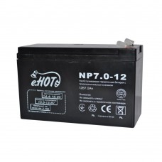 Батарея ИБП Enot 12В 7 Ач (NP7.0-12)