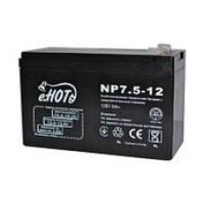 Батарея ИБП Enot 12В 7.5 Ач (NP7.5-12)