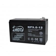 Батарея ИБП Enot 12В 9 Ач (NP9.0-12)