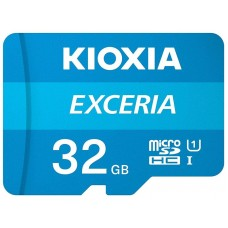 Карта microSDHC  32ГБ UHS-I Kioxia Exceria R100MB/s (LMEX1L032GG2) + SD-адаптер