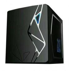 Корпус BTC F802 Micro ATX, 2хUSB2.0, без БЖ, Mini-Tower, Чорний