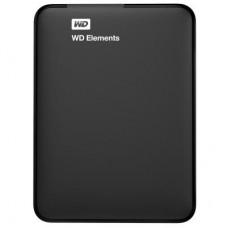 """Внешний жесткий диск 2.5"""" 1TB USB3.0 WD (WDBUZG0010BBK-WESN) черный"""