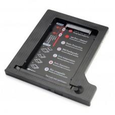Адаптер для SSD/HDD 2.5'' у відсік приводу ноутбука  9.5мм Maiwo (NSTOR-9-P)