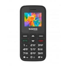 """Мобільний телефон Sigma Comfort 50 HIT2020 Black (4827798120910) Кількість SIM-карт - 2 SIM, діагональ екрану - 1.77"""", роздільна здатність екрану - 128x160, оперативна пам'ять - 32 Mb, вбудована пам'ять - 32 Mb, основна камера - 0.3 Mpx, єм"""