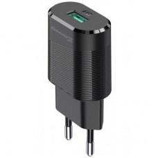 Зарядний пристрій 220V - USB Grand-X CH-17 1xUSB 5V 2,1A (CH-17)