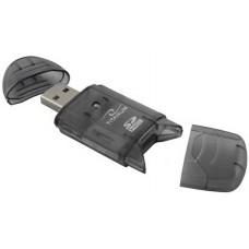 Кардридер Gembird FD2-SD-1 USB2.0 SD, MMC, RS-MMC Gray