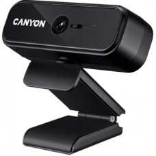 Веб-камера CANYON C2 720p HD Black (CNE-HWC2)